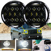 For Jeep Compass Renegade Wrangler Led Projector Headlights Drl H4 - H13 Beam