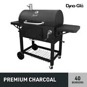 X-large Heavy-duty Charcoal Grill Adjustable Cooking Bbq Outdoor Big Meat New