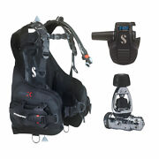 Scubapro Hydros X Men's Bcd W/balanced Inflator And Mk19/d420 Regulator Package