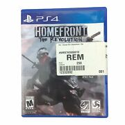 Homefront The Revolution Dambuster Studios Ps4 Sony Playstation 4 Video Game