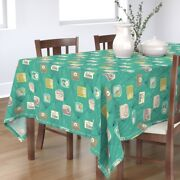 Tablecloth Radios 50and039 Collectible Vintage Midcentury Transistor Cotton Sateen