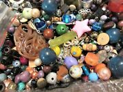 3 Plus Pounds Unsearched Vintage Mod Beads And Findings Lot