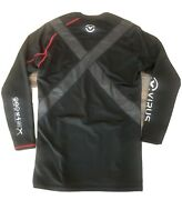 Mens Virus Posture Shirt Pullover Long Sleeve Xl Black - Excellent Condition