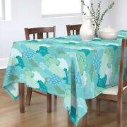 Tablecloth Nature Clouds Meditation Yoga Peace Sky Abstract Cotton Sateen