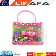 New Minnie Mouse Beauty Tote Set Xmas Birthday Child Gift Item Toy Brand New Lf