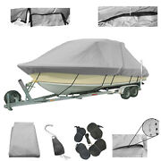 Semi-custom T-top Boat Cover Goes Over T-top Boats 26and0396-27and0395l X 102w 3 Colors