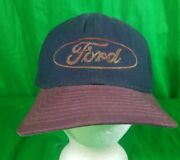 Vtg Distressed Ford Truck Hat Usa Made New Era Cap