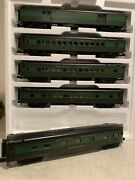🚂mth 20-65266 Reading 5-car 70and039 Streamlined Passenger Setsmooth Ln/box