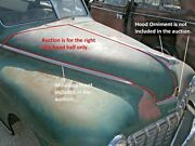 1946 1947 1948 Dodge Deluxe And Custom D24 Right Side Hood Half Panel