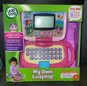 My Own Leaptop Interactive Educational Learning Laptop Abcs Music - Leapfrog