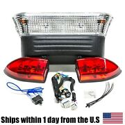 Electric Basic Light Kit For Club Car Precedent Mid 2008 And Up W/ Led Taillights