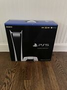 Sony Playstation 5 Ps5 Digitalandnbspedition Console Sealed In Hand Ships Today