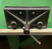 Vintage Howe Fdy And Co., Littlestown, Pa - Cast Iron Wood Worker's Vise No. 166