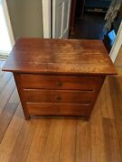 Thomasville Madison County Solid Wood Pair Of Nightstands