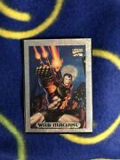1994 Marvel Masterpieces War Machine Limited Edition Silver Holofoil Mint
