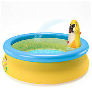 Inflatable Swimming Pools Above Ground Pool Kids Family Outdoor Us Stock
