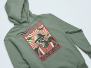 Vintage Gas Mask Soldier Wwii Apocalypse Avenger Gas Mask Pullover Hoodie_268