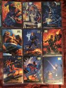1994 Marvel Masterpieces W/ Gold Foil Signsture Series And Duplicates