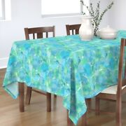 Tablecloth Cephalopods Nautilus Mollusc Shell Blue And Green Sea Cotton Sateen