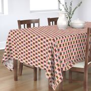 Tablecloth Text Poetry Typography Typewriters Vintage Geek Retro Cotton Sateen