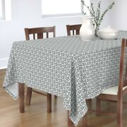 Tablecloth Xoxo Love Hugs And Kisses Valentines Day Neutral And Cotton Sateen