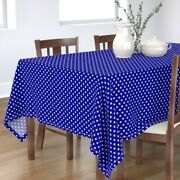 Tablecloth Blue Stars And Stripes 4th Of July Usa Flag Star Cotton Sateen