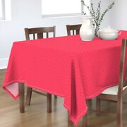 Tablecloth Watermelon Summer Costume Melon Snack Fruit Strawberry Cotton Sateen