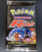 Sealed Team Rocket 1st Ed. Pokemon Cards Booster Pack Box Fresh Unweighed Cs11