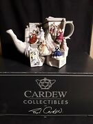 Cardew Royal Doulton Pretty Ladies Market Stall Large Teapot With Box