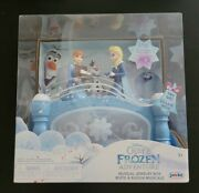 Disney Olaf's Frozen Adventure Musical Jewelry Box, Anna Elsa Move To Music New