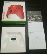 Box Only Microsoft Xbox One X|s 1708 Pulse Red Controller Game Pass 14-day Code