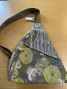 Ameribag Classic Healthy Back Bag Tote Distressed Nylon Reef Grey New With Tags