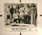 Dark Star Orchestra 8 X 10 Promotional Press Photo Signed In-person