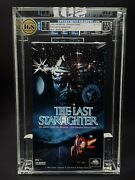 Vhs The Last Starfighter Igs 7.0-7.5 Nm 2nd Press 1995 Lance Guest 80's Cult Mca