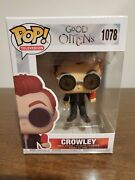 Funko Pop Crowley 1078 Good Omens Chase Limited Edition Double Boxed