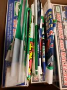 Hess Truck Lot 10+ Bags 5 Trucks , Helicopter, Toy Truck And Racers Open Box