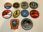 Lot Of 10 Us Army Aviation Patches
