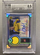 Rare 2019 Topps Museum Erling Haaland Relic Auto Rookie Card Bgs 8.5 /24