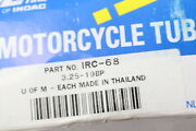 Motorcycle Tube For Tires 100/90-19 / 3.25-19/ 3.50-19 Fits Honda Cr125r Irc-68