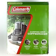 Coleman Camping Portable Stove Top Drip Brew 10 Cup Coffee Maker New In Box
