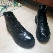 Gripfast Captoe 6-eyelet Stell Toe Combat Boots 7 Made In England