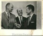 1964 Press Photo Walter Mcmillan And Other Officers Of Ga Solicitors General