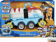 Paw Patrol, Dino Rescue Patroller Motorized Team Vehicle With Exclusive Figures