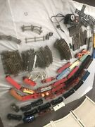 Vtg Very Large Beautiful Vintage Lionel Train Set With Lots Of Track Made In Usa