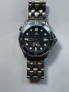 Omega Seamaster Blue Menand039s Watch - 2531.80.00 41mm Bond Pre-owned.