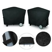 Black Waterproof Dustproof For Weber Q3000 Q2000 Outdoor Barbecue Bbq Cover!