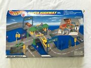 Vintage 1998 Hot Wheels Super Highway Play Track / Toll Booth Play Set