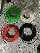 125' Ea Thhn Thwn 8 Awg Gauge Black White Red, And Green