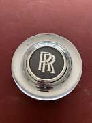 Rolls Royce Oem Chrome Center Cap For 20andrdquo Wheel Used W/floating R/r. Excellent