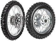 Front 60/100-14 And Rear 80/100-12 Tire Rim Wheel + Sprocket And Rotor Apollo Rfz125